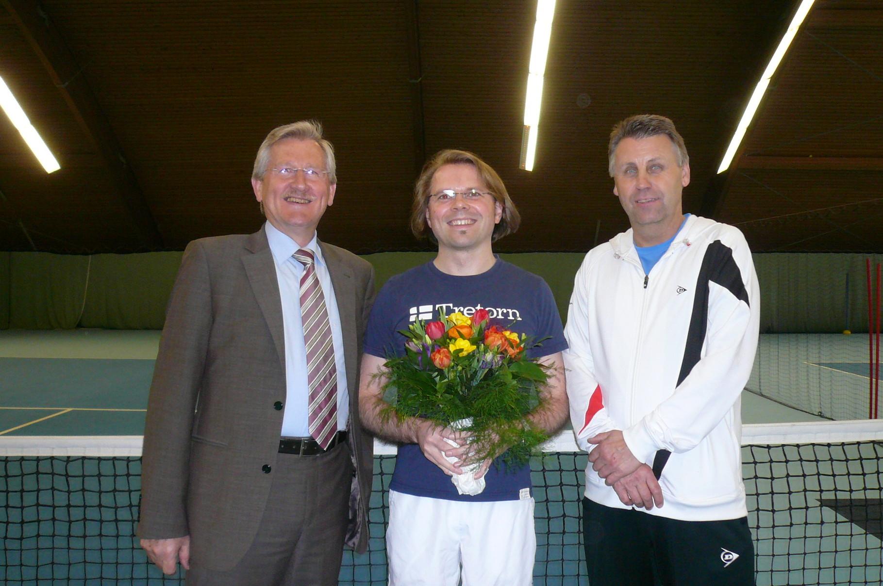 200. Mitglied der Tennissparte-Guido Tyroff