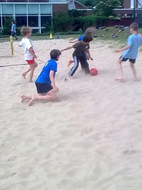 Beach Fußball