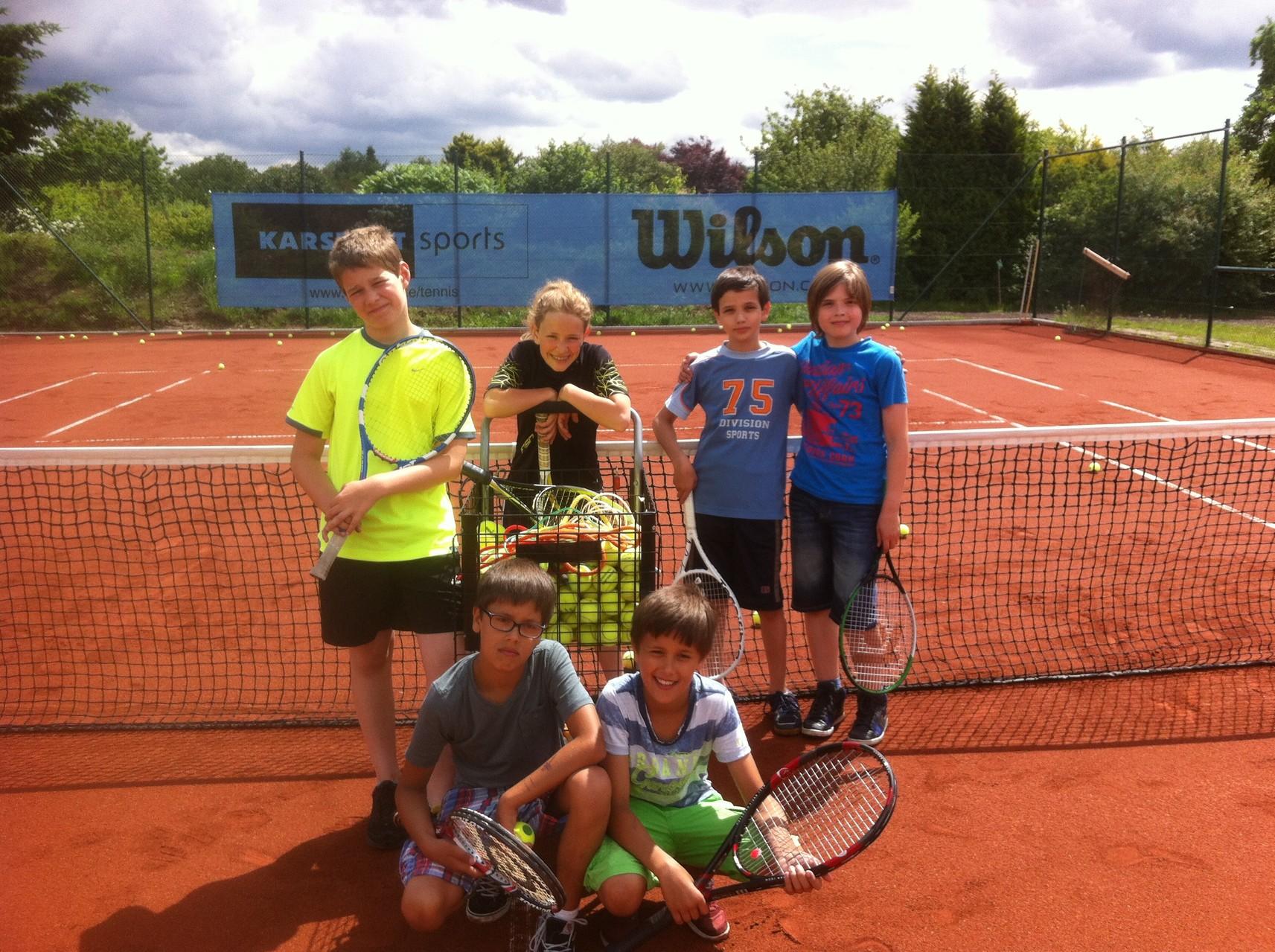 Tennis AG- Herderschule
