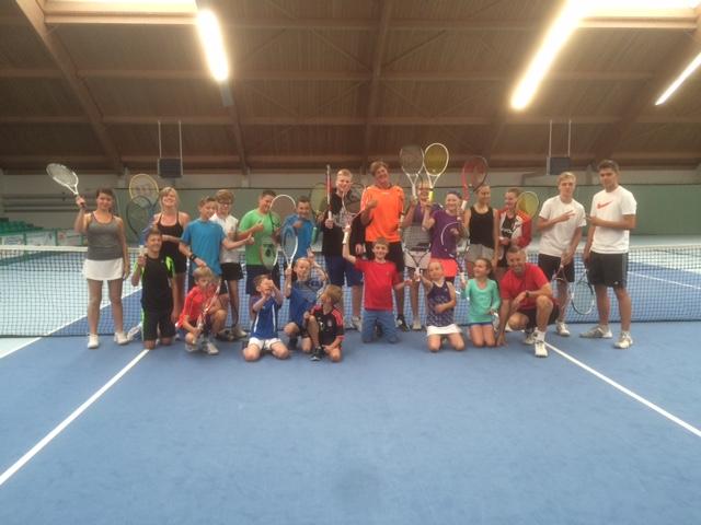 Tenniscamp 1.8-3.8.2016