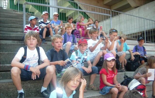 Sommercamp 2010- Besuch des Tennisturnier am Rothenbaum