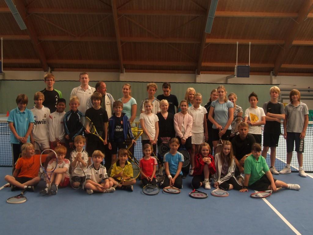 AlleTeilnehmer - Sommer Tenniscamp 2011