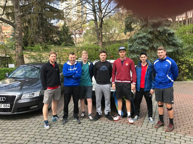 Tenniscamp im Prag