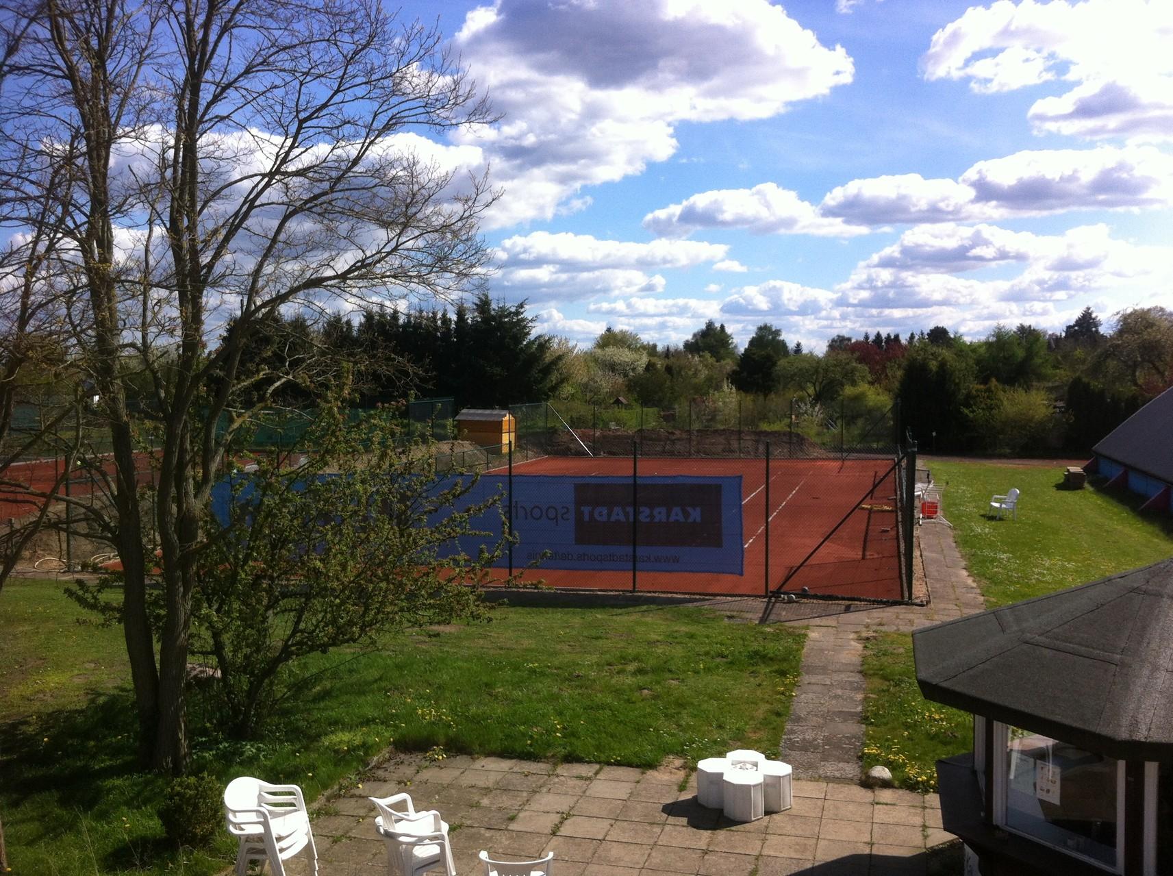 Neue Tennisplatz