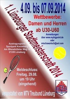 1.Lüneburger Stadtmeisterschaften