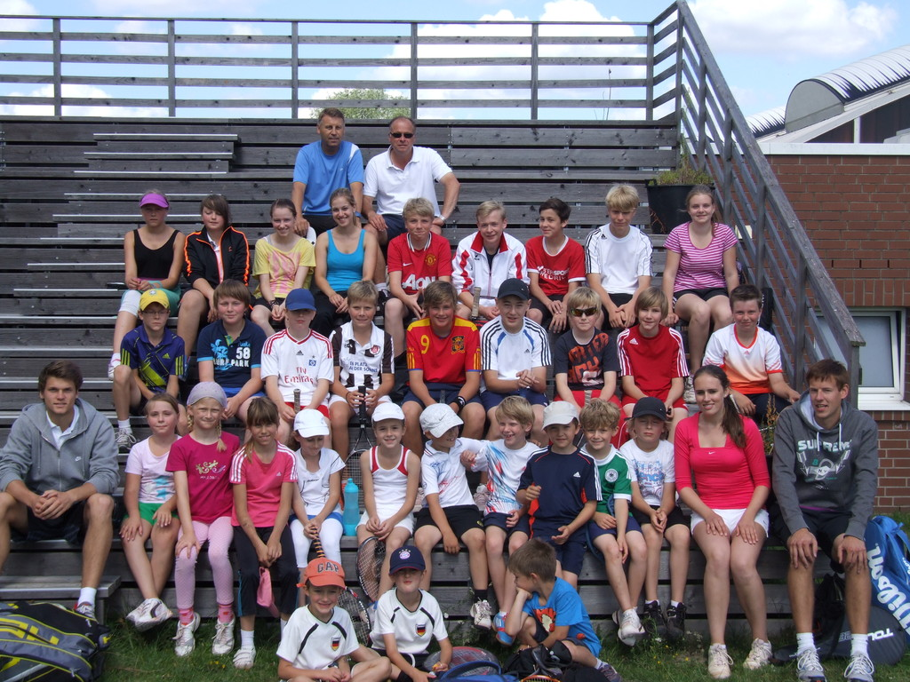 Tenniscamp Teilnehmer 2012
