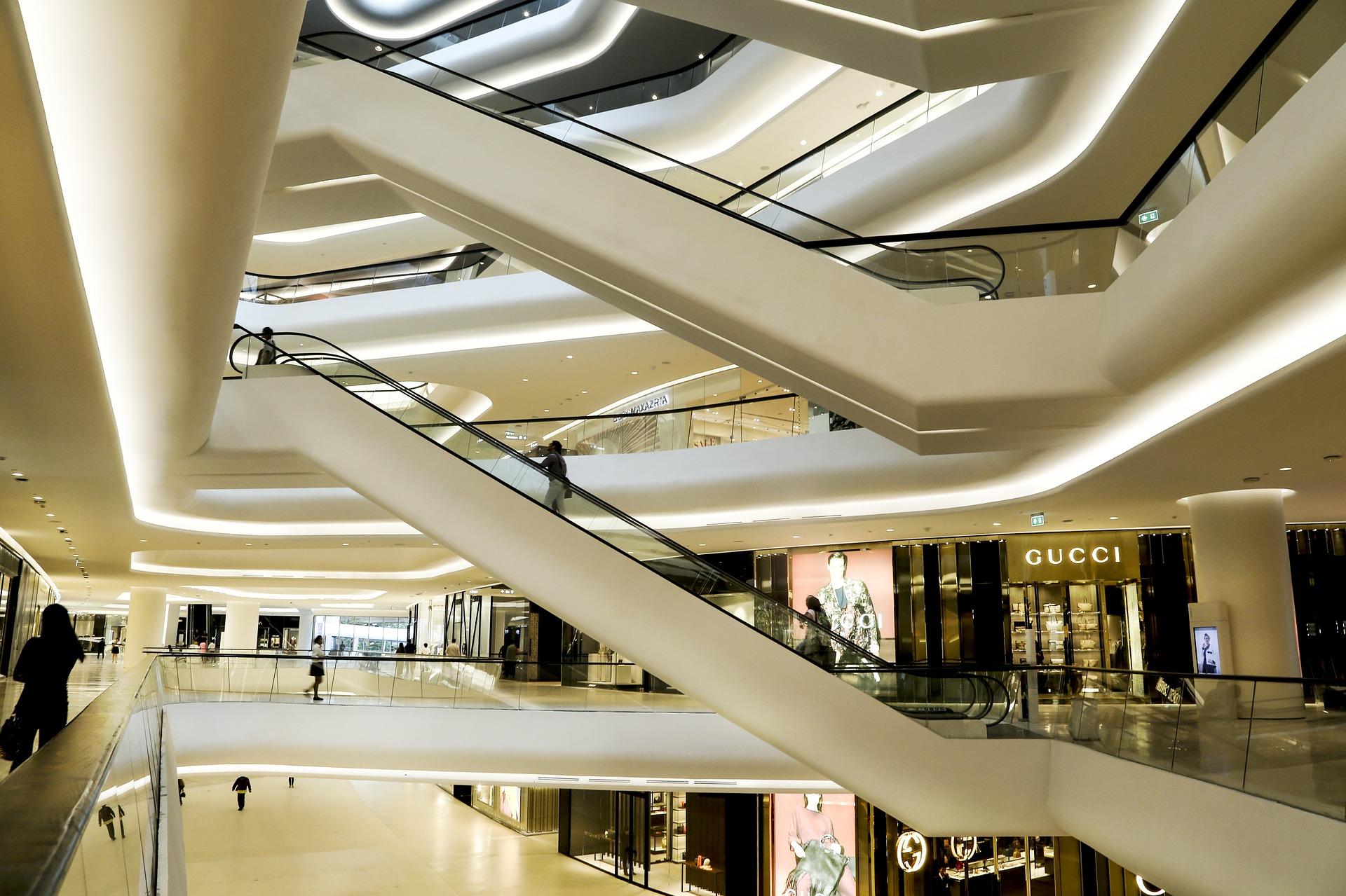 Einkaufszentren
