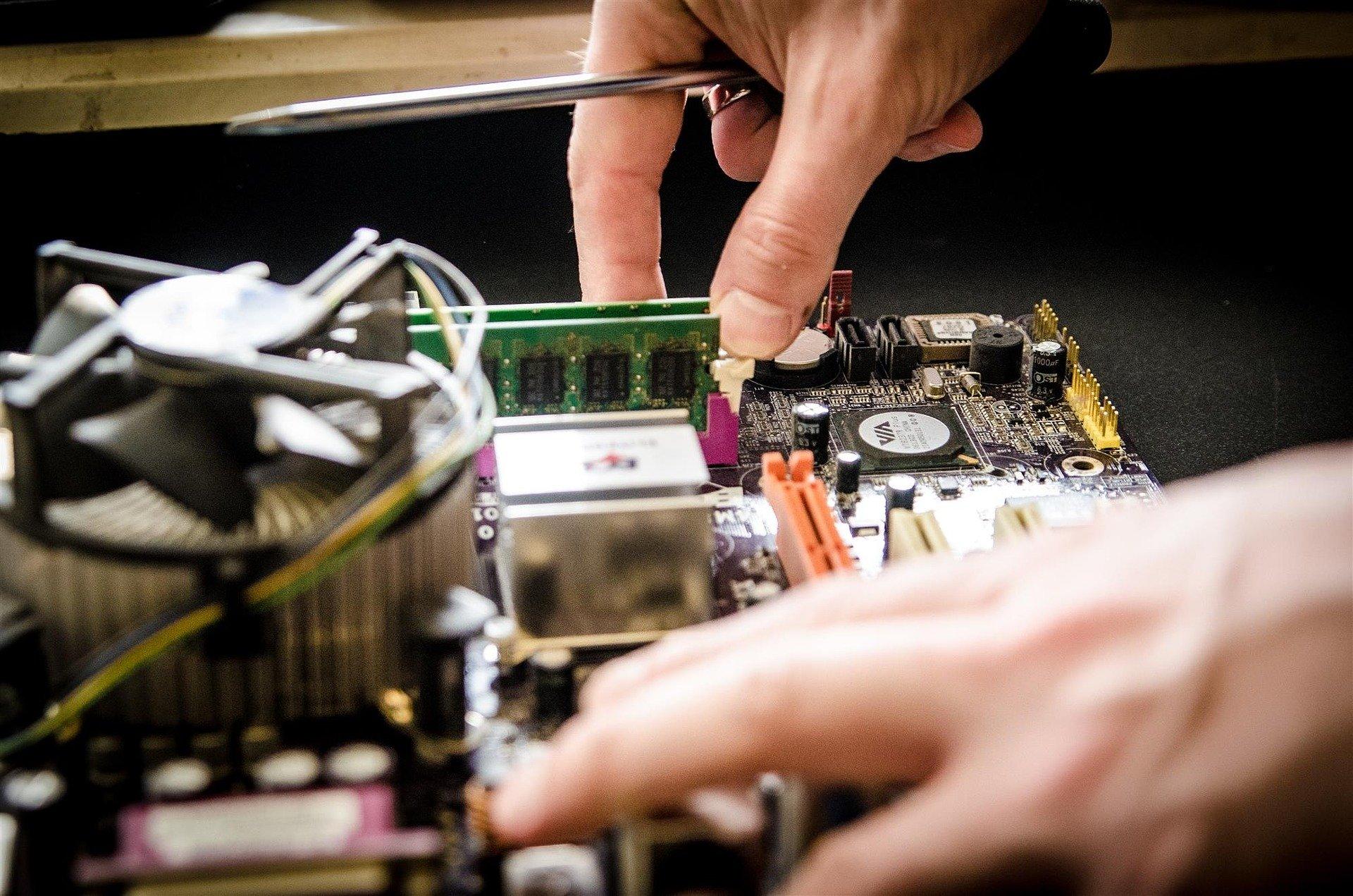 Elektronik- und High-Tech-Industrie