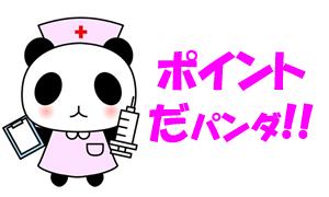 ポイント看護師パンダ