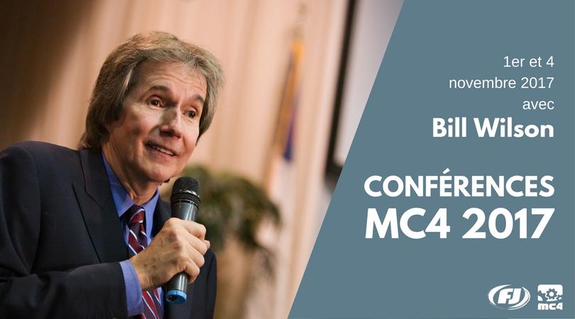 Conférence MC4 2017 Bill Wilson