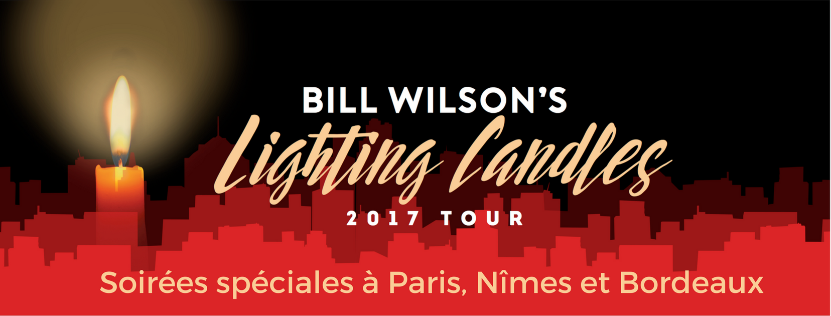 Bill Wilson tournée France 2017