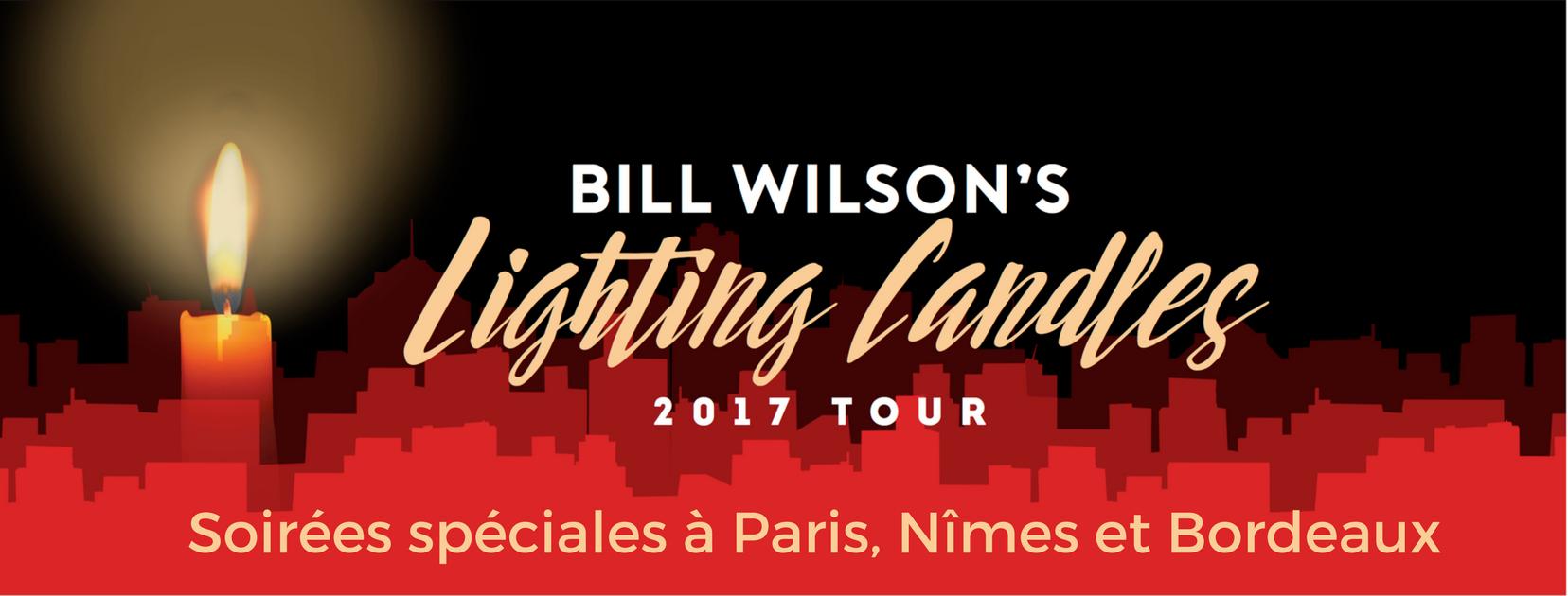 Bill Wilson tournée France 2017