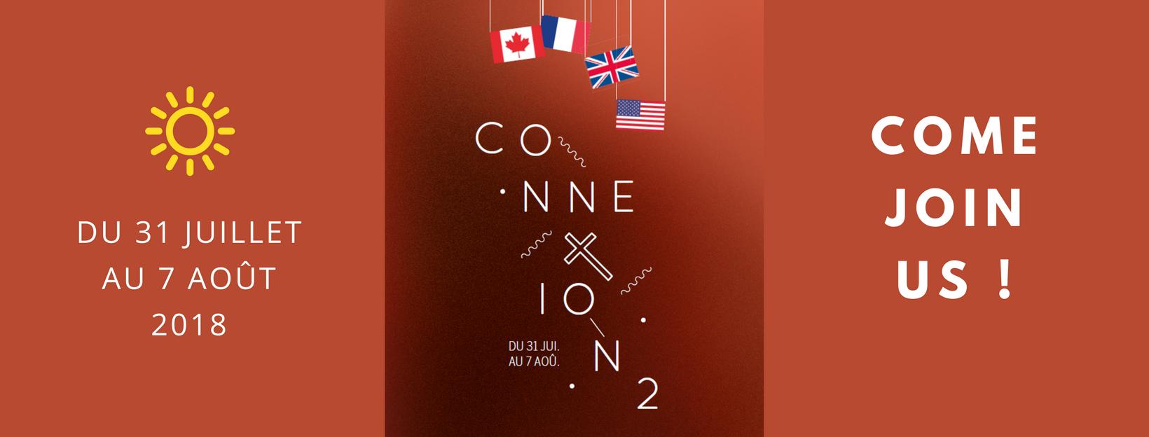 Bannière camp ConneXion à Valence