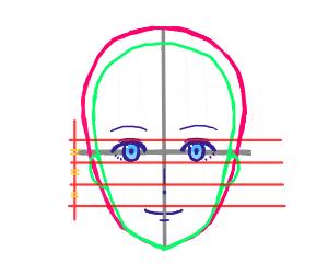 鼻口の描き方 個人イラスト研究