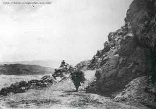 Hanna Pass, near Quetta, 1900