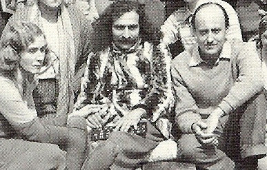 LM ; p1585 -(L-R) Margaret Ross-Starr, Meher Baba, Meredith Starr