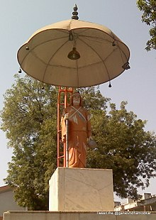 Gadge Maharaj Statue, Medical Square, Nagpur, India