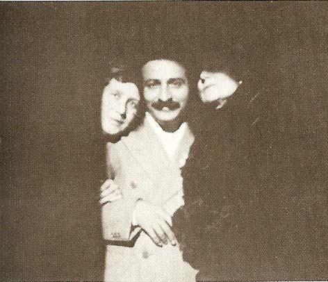 1932 - Enid Corfe, Baba and Norina Matchabelli