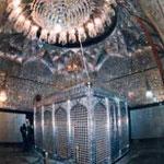 Hazrat Abdul Qadir Gilani shrine - cage