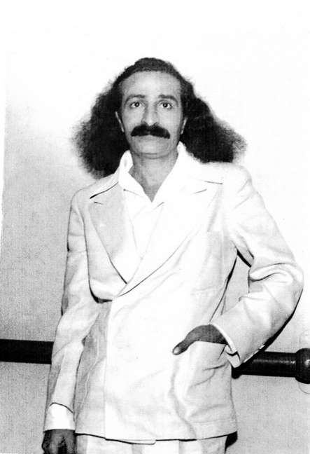4th June, 1932 : Meher Baba on board the SS Monterey docked in Los Angeles harbour.