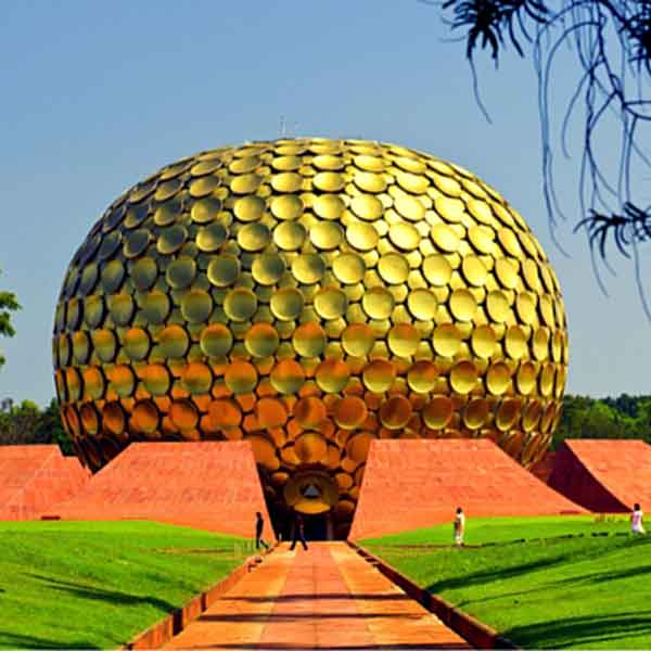 AUROVILLE ASHRAM, PONDICHERRY ( PUDUCHERRY ), INDIA