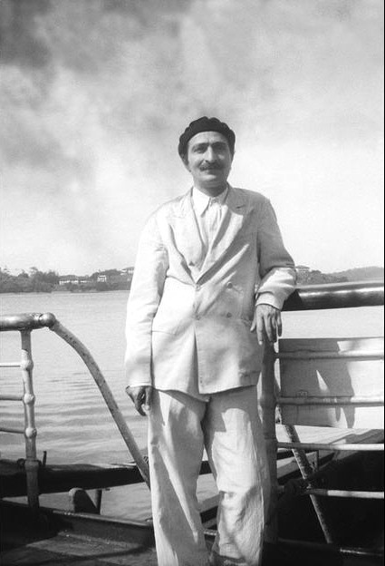 Meher Baba on board the M.V. Circassia