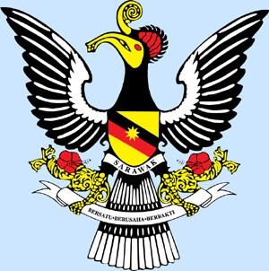 Sarawak crest - present day