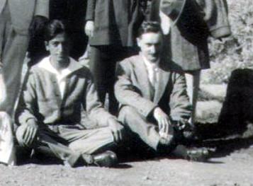 Wood sitting with Krishnamurti