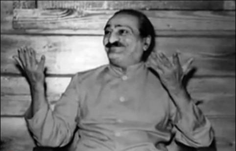 Meher Baba in the Lagoon Cabin, Meher Spiritual Centre,Myrtle Beach, S.C.