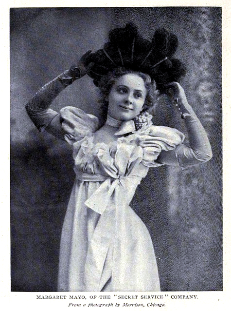 Actress and playwright, Margaret Mayo in 1898