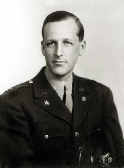 Lt.Col.Cliff Gayley in the Army, 1945