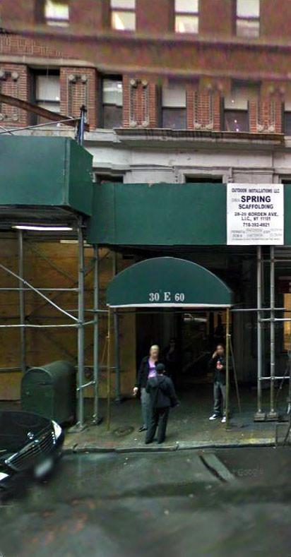 2009 ; Building entrance