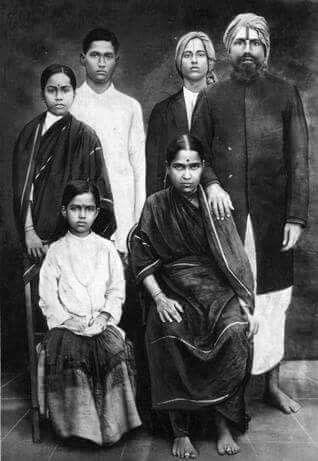 Mahakavi Bharathiyar's family photo