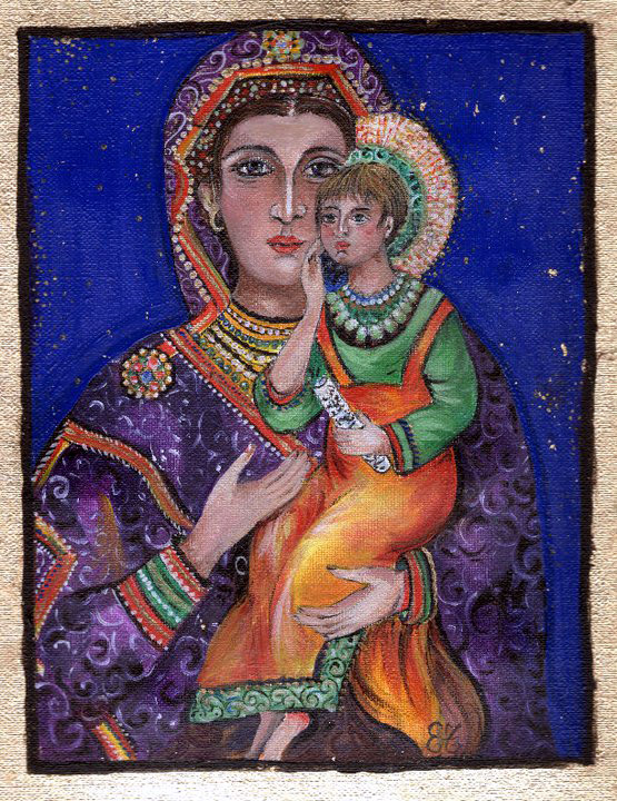 13.  MADONNA AND CHILD