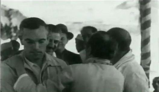 India ; 1954 - Frank ( left )