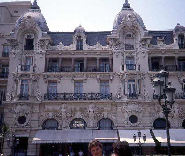 Hotel de Paris - Courtesy of Anne Giles