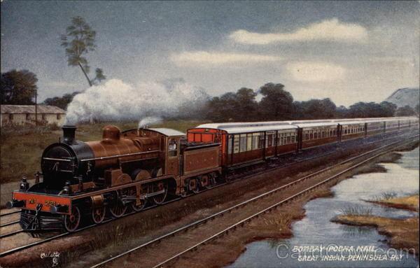 Bombay to Poona Mail Train