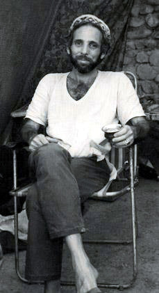 Robert Dreyfuss in Ladakh-1970s ; Courtesy of Anne  Giles
