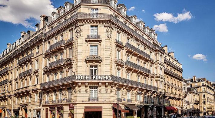 Powers Hotel, Paris, France
