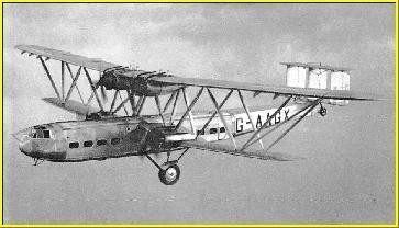 "Imperial Airways "" Hadrian "" ; Hadley Page 42"