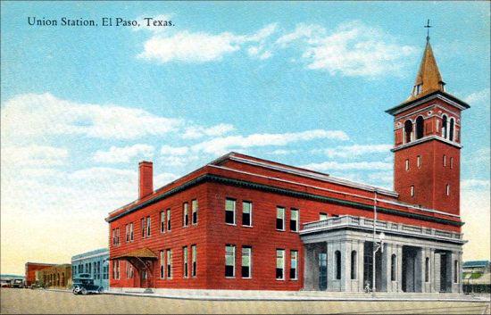 El Paso Depot - 1925