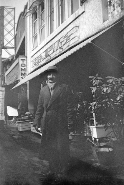 MSI Collection ; Meher Baba in London's Chinatown, April 1932