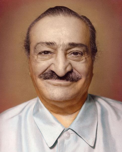 1960s image of Meher Baba