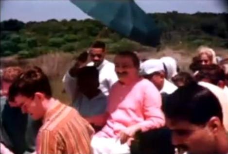 1956 ; Myrtle Beach, SC. - Tex wearing brown stripe shirt