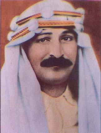 Cropped photo of Meher Baba taken in Nasik, India in 1936