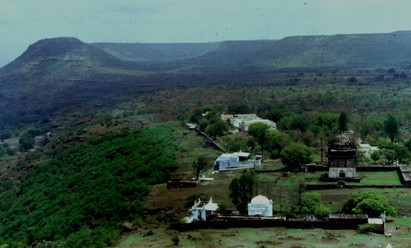 View from Sai Baba's Cave