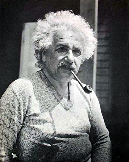 Einstein, Albert - this is the photo Antonie took.