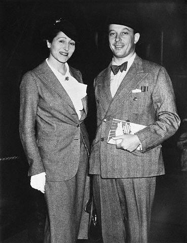 Baron Philippe & Baroness Elisabeth De Rothschild In 1937