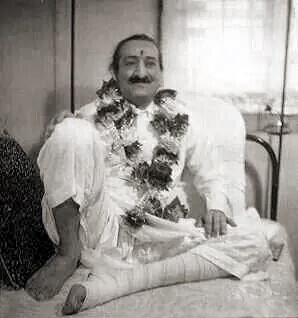 Meher Baba recouperating after the car accident