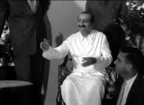 Meher Baba in New York City, 22nd July 1956